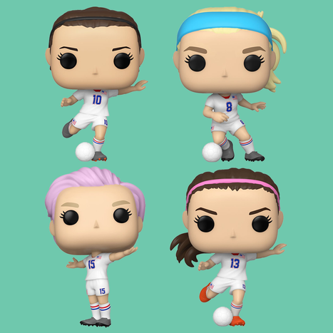 [PRE-ORDER] Funko POP! USWNT - Set of 4