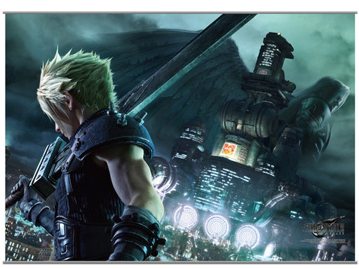 Square Enix: Final Fantasy VII Remake Wall Scroll Vol.1