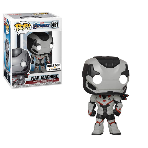 Funko POP! Avengers Endgame - War Machine (Team Suit) Vinyl Figure #461 Amazon Exclusive (NOT 100% MINT)