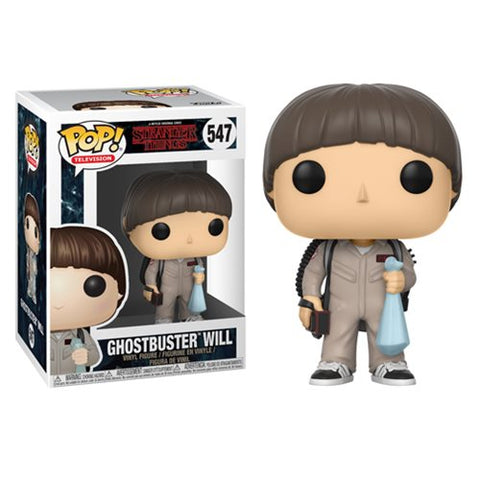 Funko POP! Stranger Things - Ghostbuster Will Vinyl Figure #547