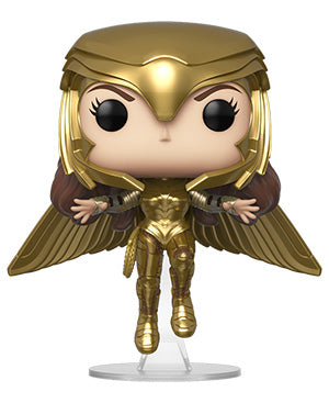 [PRE-ORDER] Funko POP! Wonder Woman 1984 - Wonder Woman Gold Flying (Metallic) Vinyl Figure