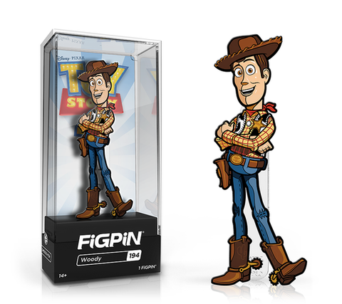 [PRE-ORDER] FiGPiN: Toy Story 4 - Woody #194