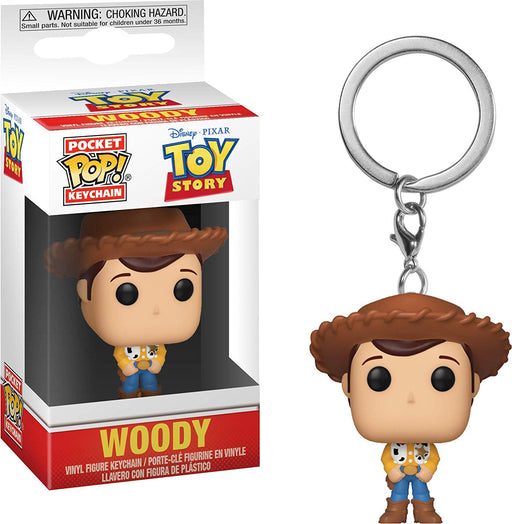 Funko POP! Keychain: Toy Story - Woody Pocket Keychain
