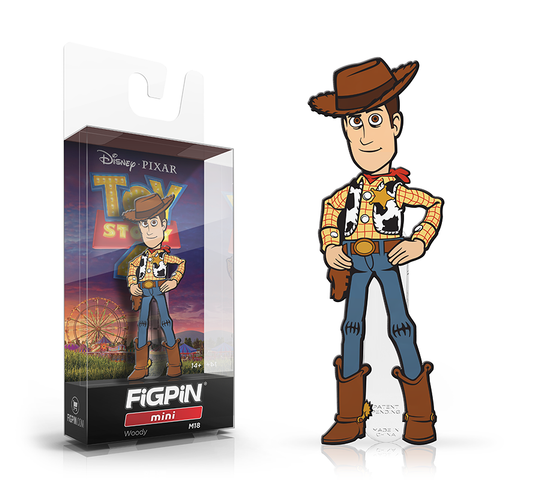 FiGPiN mini: Toy Story 4 - Woody #M18