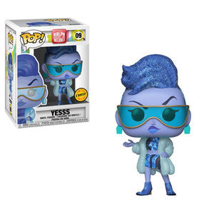 Funko POP! Ralph Breaks the Internet - Yesss Chase Vinyl Figure #09