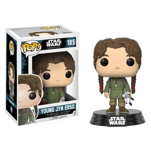 Funko POP! Star Wars: Rogue One - Young Jyn Erso #185