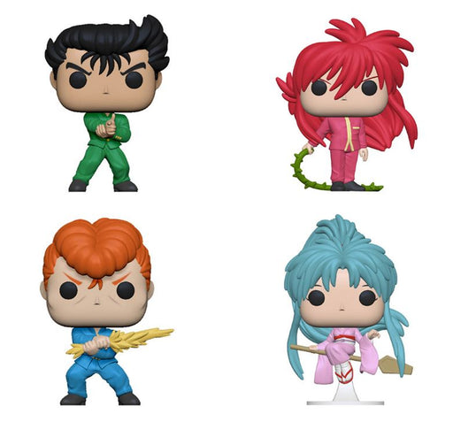 Funko POP! Yu Yu Hakusho - Complete Set of 4