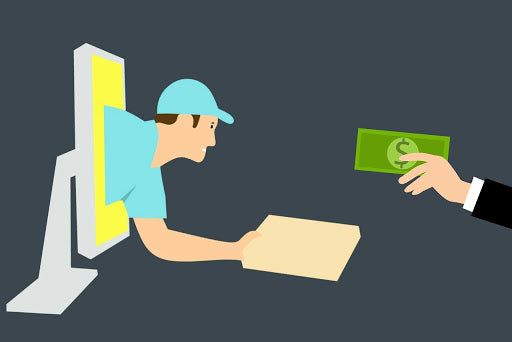 Paying a delivery company for shipping eCommerce products, a crucial step for eCommerce product research