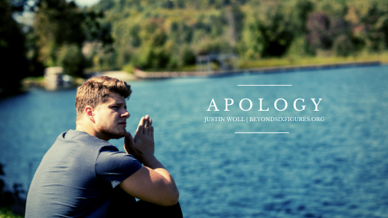justin woll apology