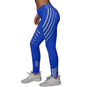 Laser Glow Yoga Fitness Leggings