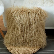 Tibet lamb skin rug for home decoration pillows