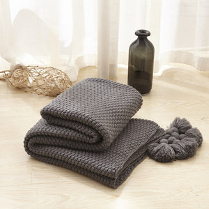 Winter cotton comfortable  sofa cover blanket