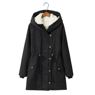 Long Fleece Military Jacket