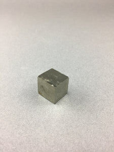 Natural Pyrite cube from Navajun, Spain