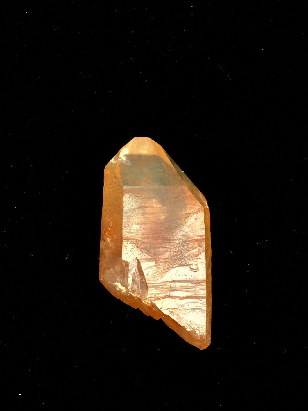 Tangerine Quartz double terminated
