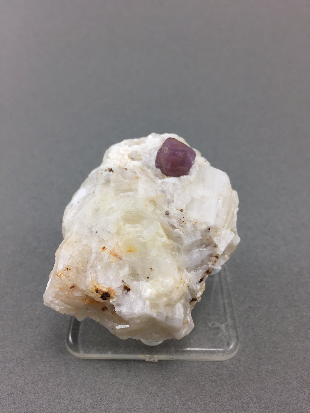 Purple Spinel on matrix from Hunza Valley, Pakistan