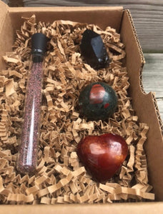 Root Chakra Grounding Crystal Set