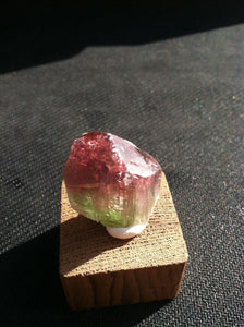Tourmaline, bi-color, from, Papruk Afghanistan
