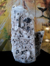 Feldspar with tourmaline, topaz and quartz from Pakistan