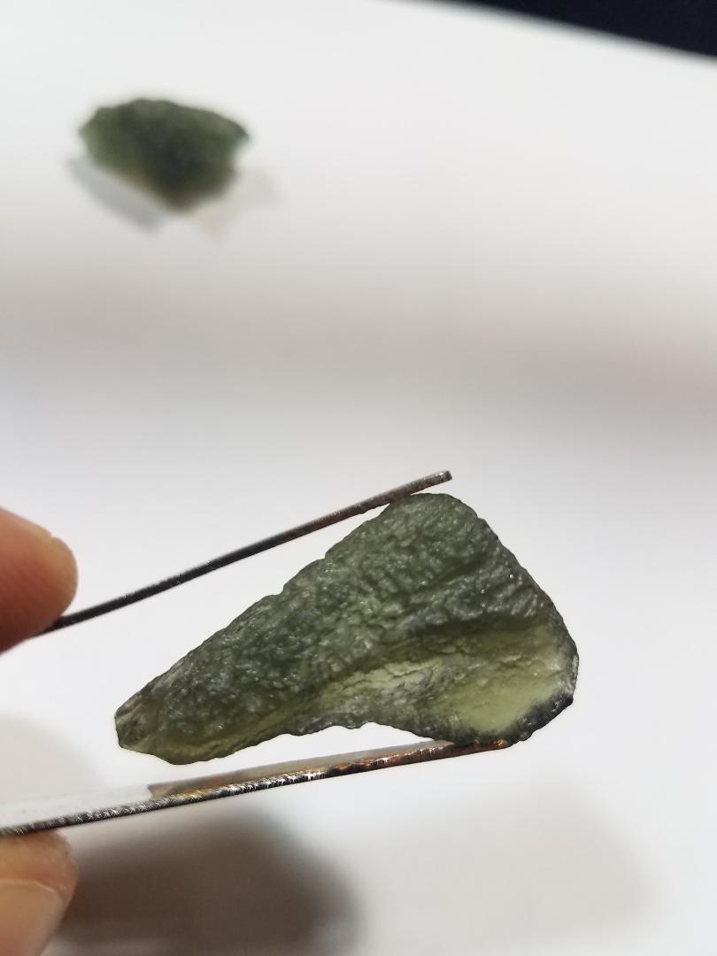 Moldavite from Czech. Rep.
