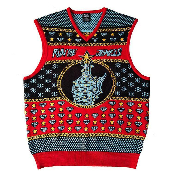 Run the Jewels Holiday Knit Sweater Vest