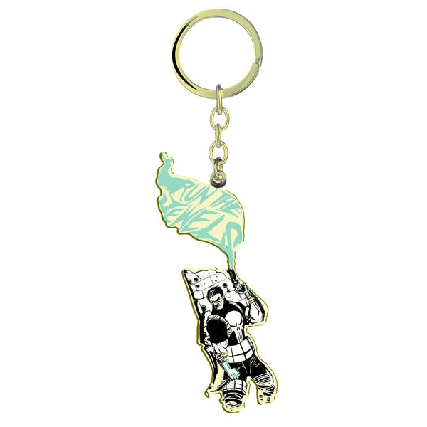 Run the Jewels Punisher Smoking Gun Keychain