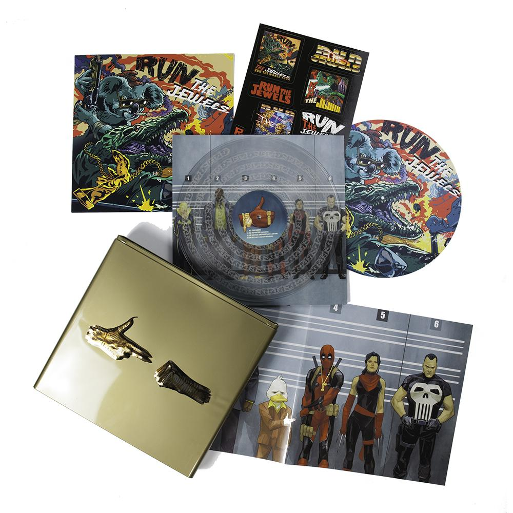 Run The Jewels Stay Gold Vinyl Box Set