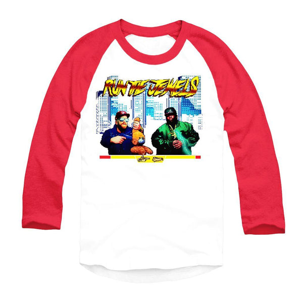 Run the Jewels Video Game Raglan Shirt