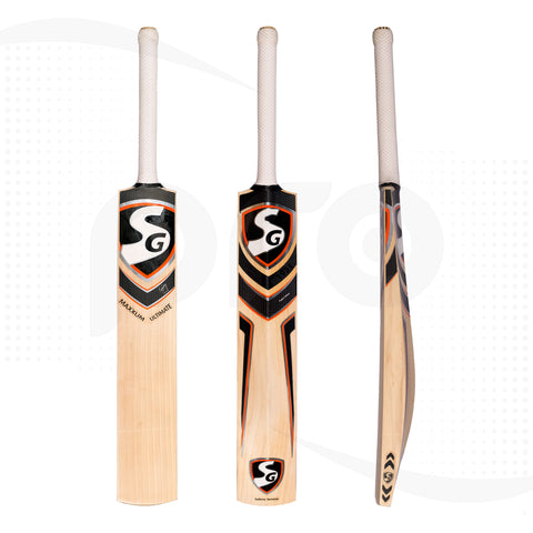 SG Maxxum Ultimate Players Grade English Willow  Cricket Bat SH
