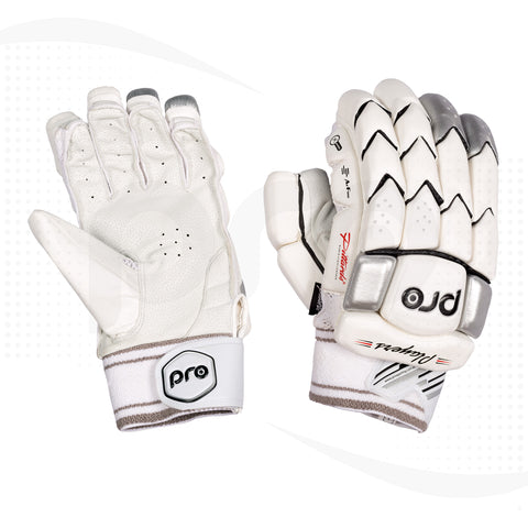 PRO Players Test Grade Cut Finger Cricket Batting Gloves