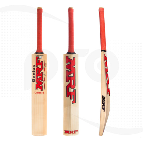 MRF Genius Classic English Willow Cricket Bat