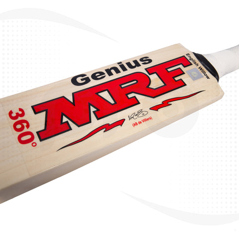 MRF Genius 360 AB DeVilliers English Willow Cricket Bat