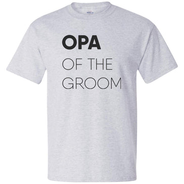 Opa of The Groom Block T-Shirt