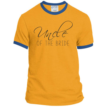 Uncle of The Bride Script Tee