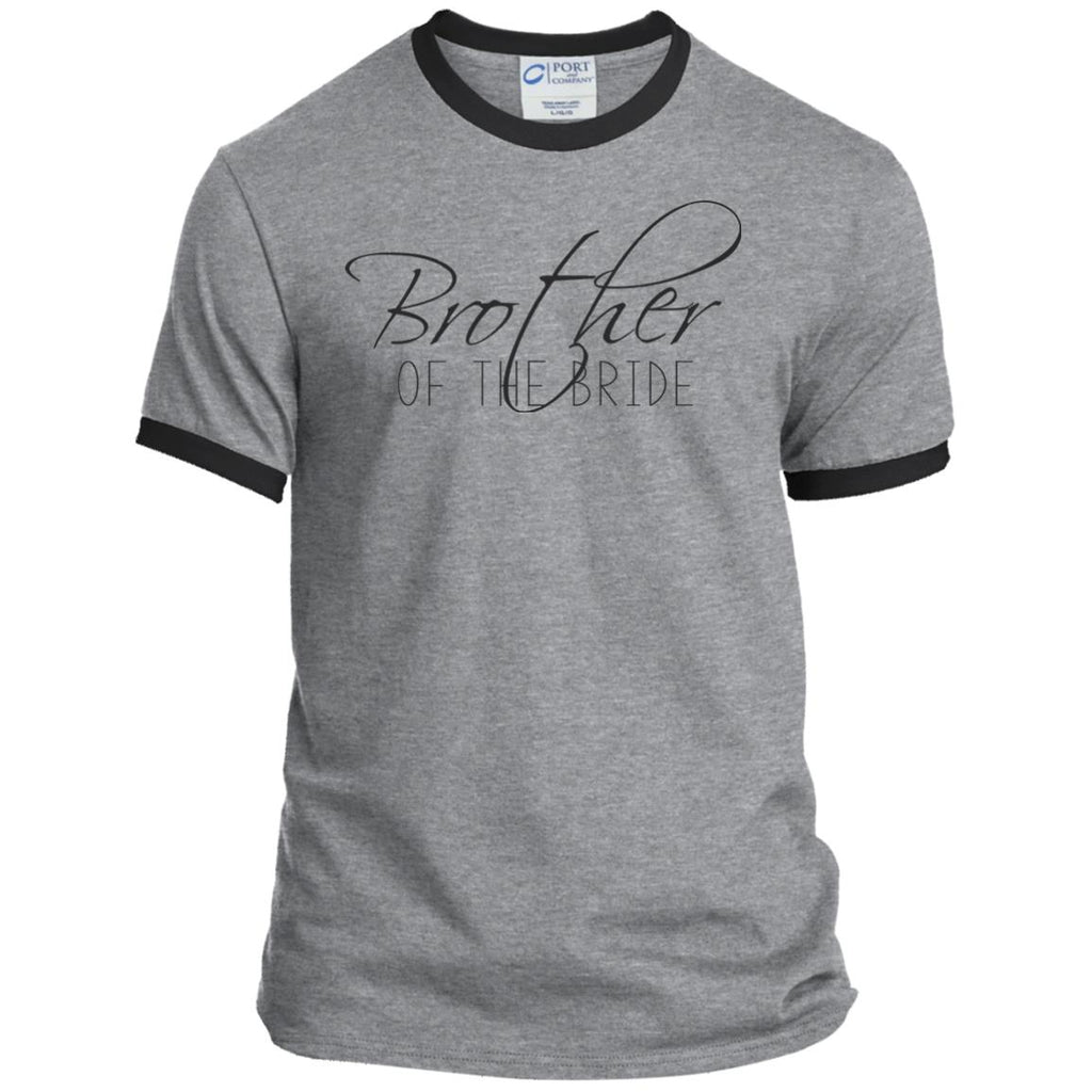 Brother of The Bride Ringer Tee