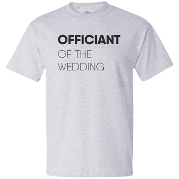 Officiant Block T-Shirt