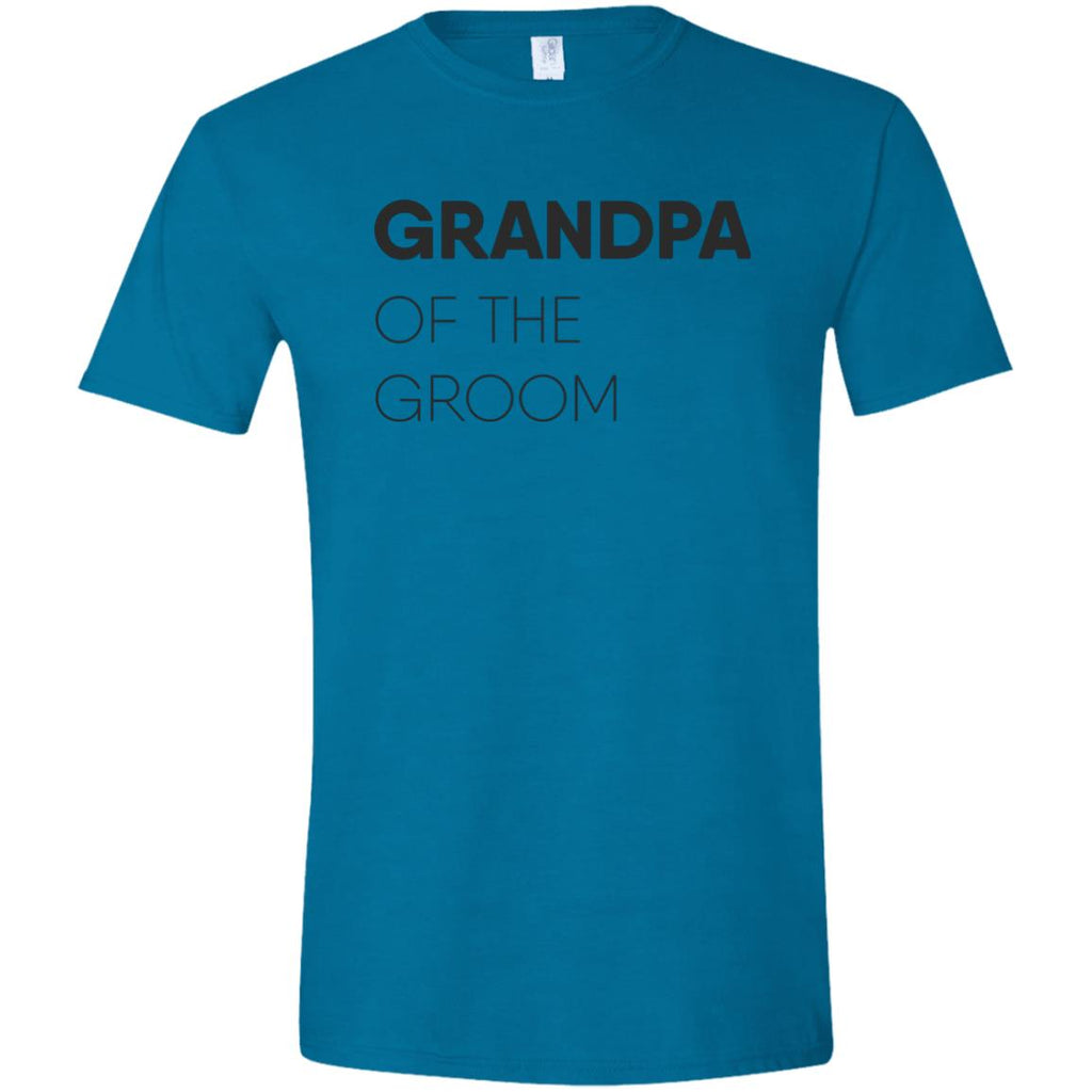 Grandpa of The Groom Block Softstyle T-Shirt
