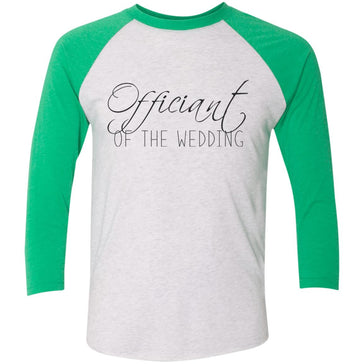 Officiant Script Baseball T-Shirt
