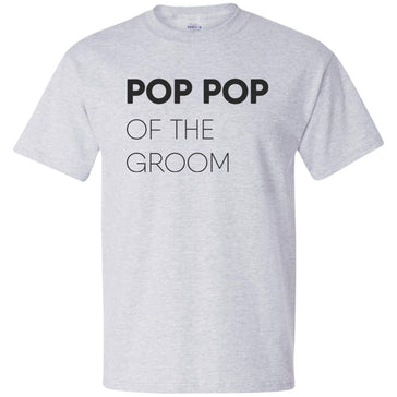 Pop Pop of The Groom Block T-Shirt