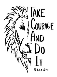 Take Courage and Do It Tee