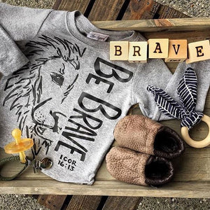 Be Brave Lion T-shirt