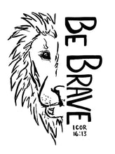 Be Brave Lion Tee