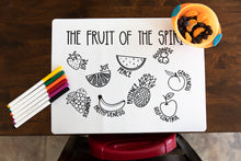 Fruit of the Spirit Coloring Mat