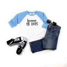 He lives Raglan 3/4 sleeve
