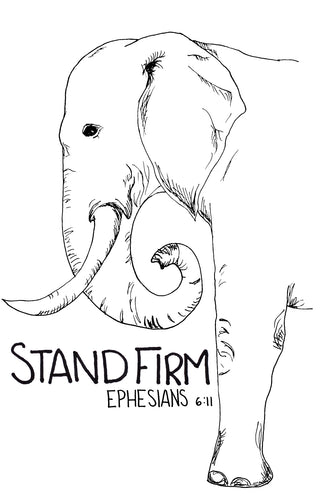 5 pack of Stand Firm tattoos