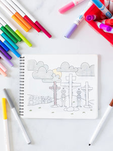 Life of Christ Silicone Coloring Book