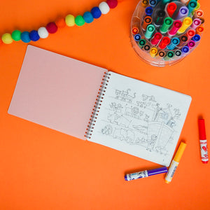Silicone Coloring Book