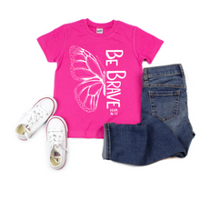 Be Brave Butterfly Tee