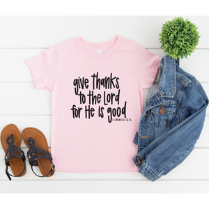 Give Thanks to the Lord Tee