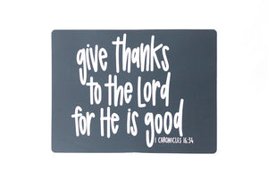 Give Thanks Placemat